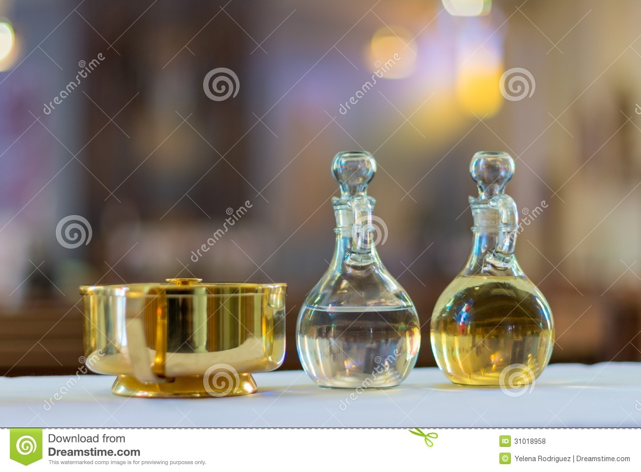 Holy water and oil for unction stock photo image 31018958 holy water and oil for unction buycottarizona