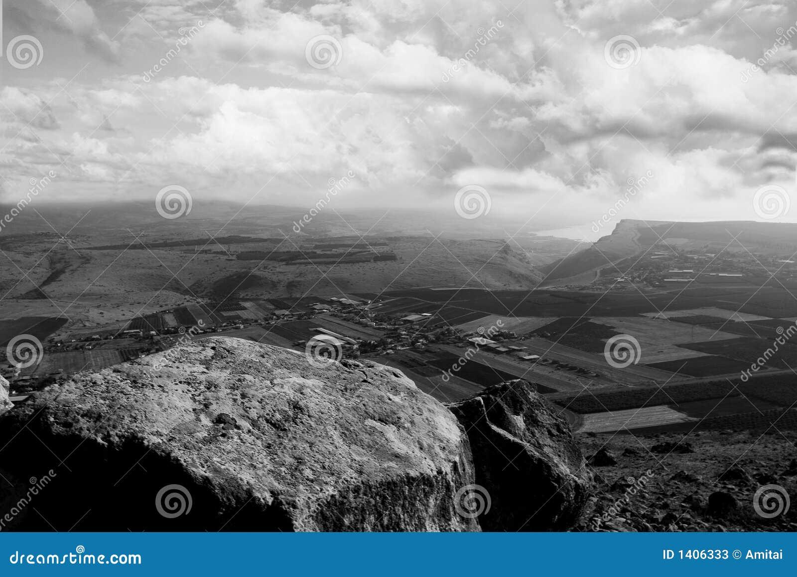 Holyland série-Mt. Panorama d Arbel