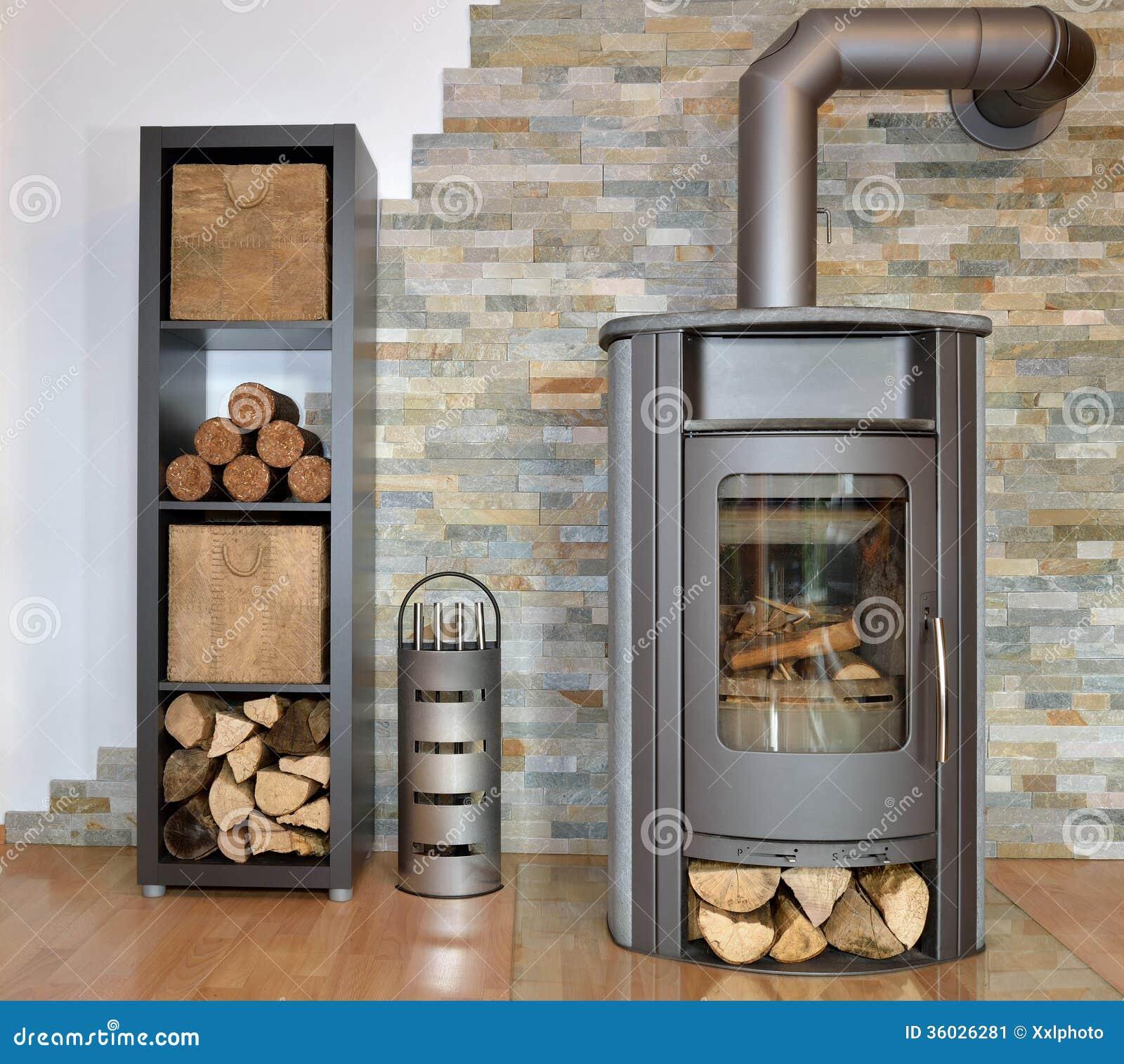 Holz abgefeuerter Ofen