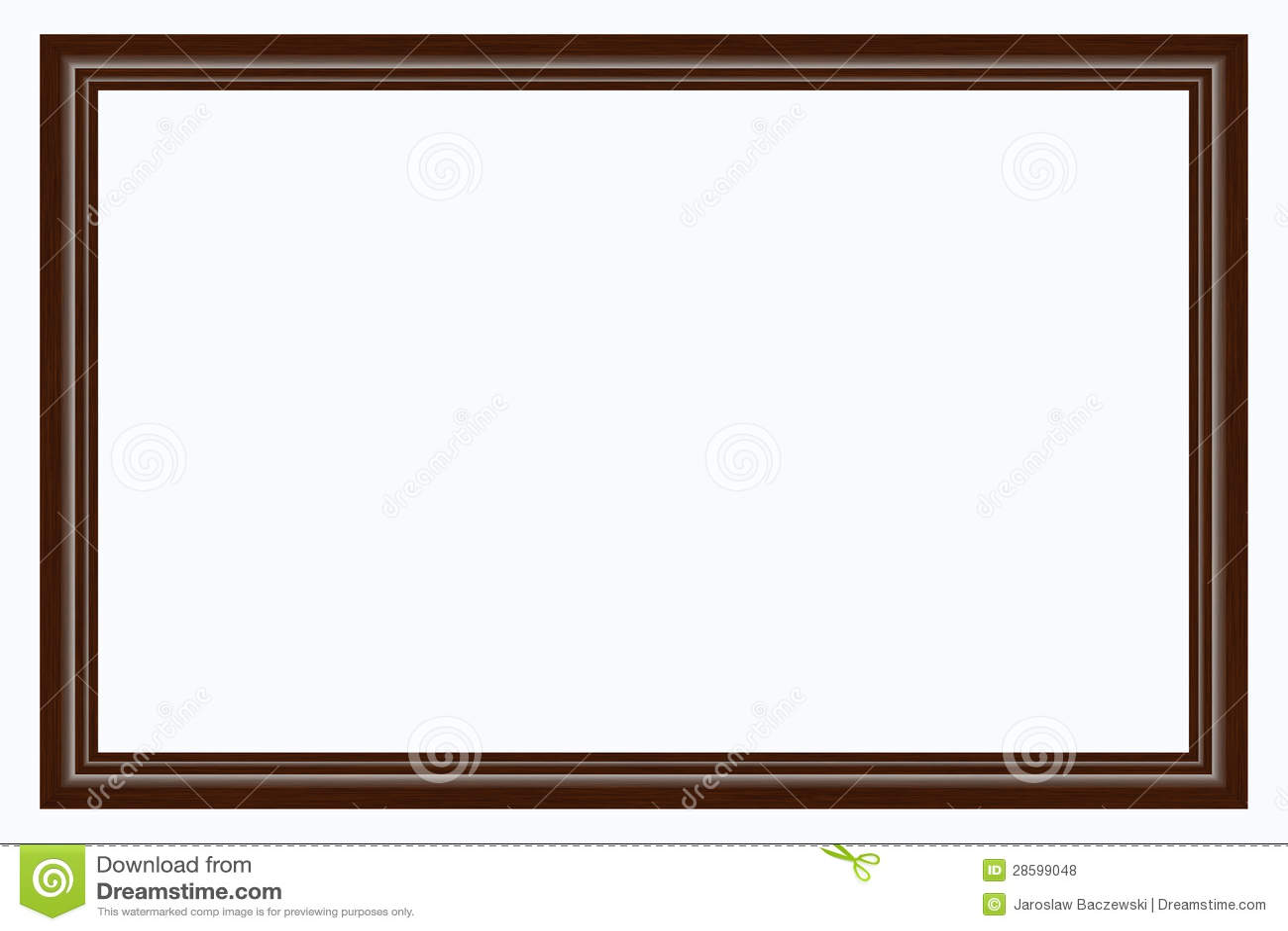 Holzrahmen stockfoto. Bild von geschnitzt, leerzeichen - 28599048