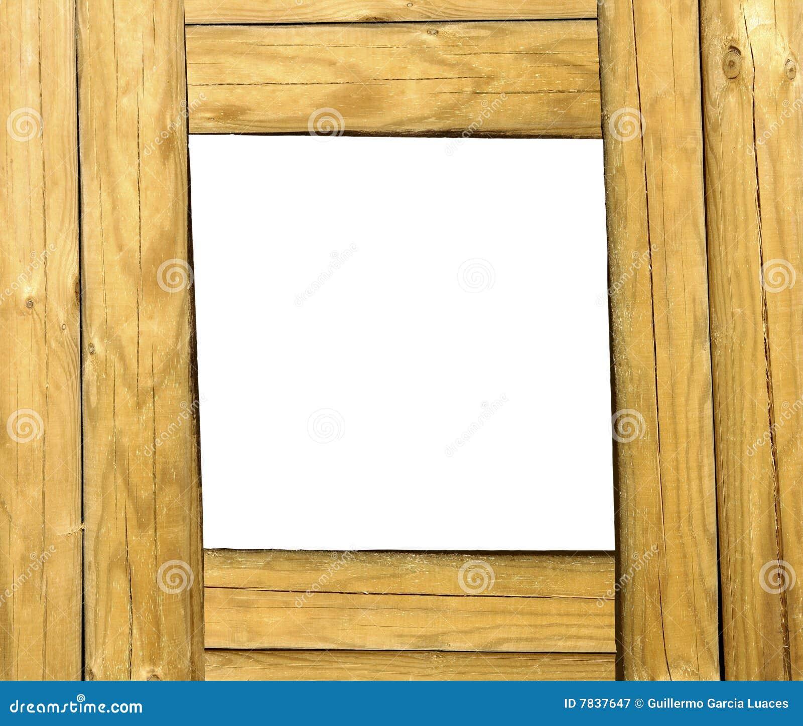 Holzrahmen stockbild. Bild von gealtert, muster, bild - 7837647