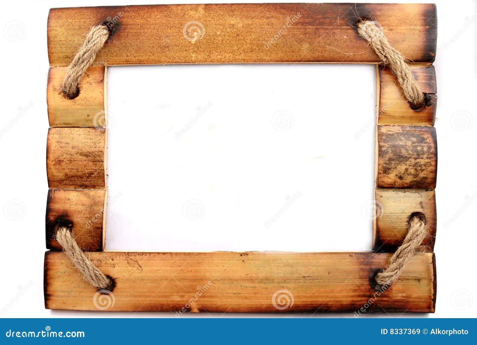 Holzrahmen stockbild. Bild von foto, weiß, bild, hölzern - 8337369