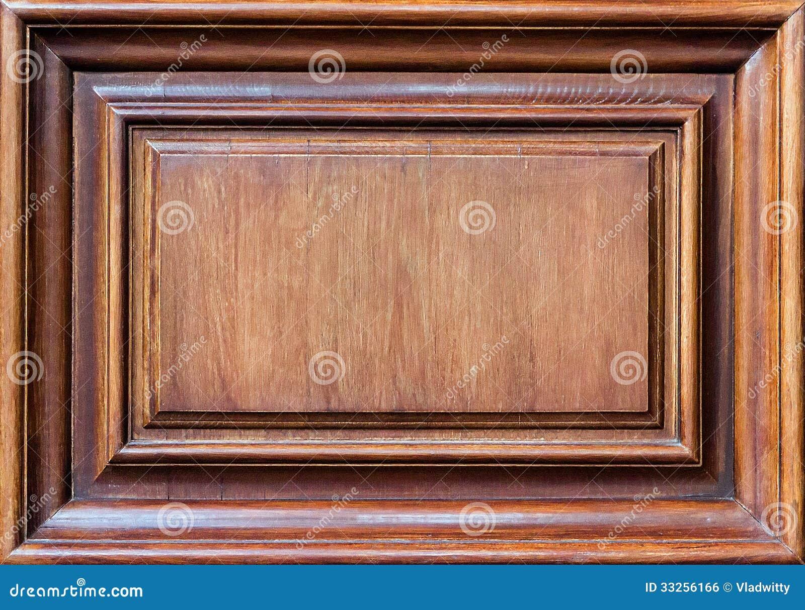 Holzrahmenwand stockfoto. Bild von retro, eleganz, rand - 33256166