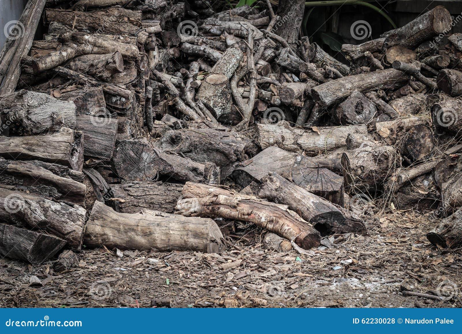 Holzspäne für Brennstoff