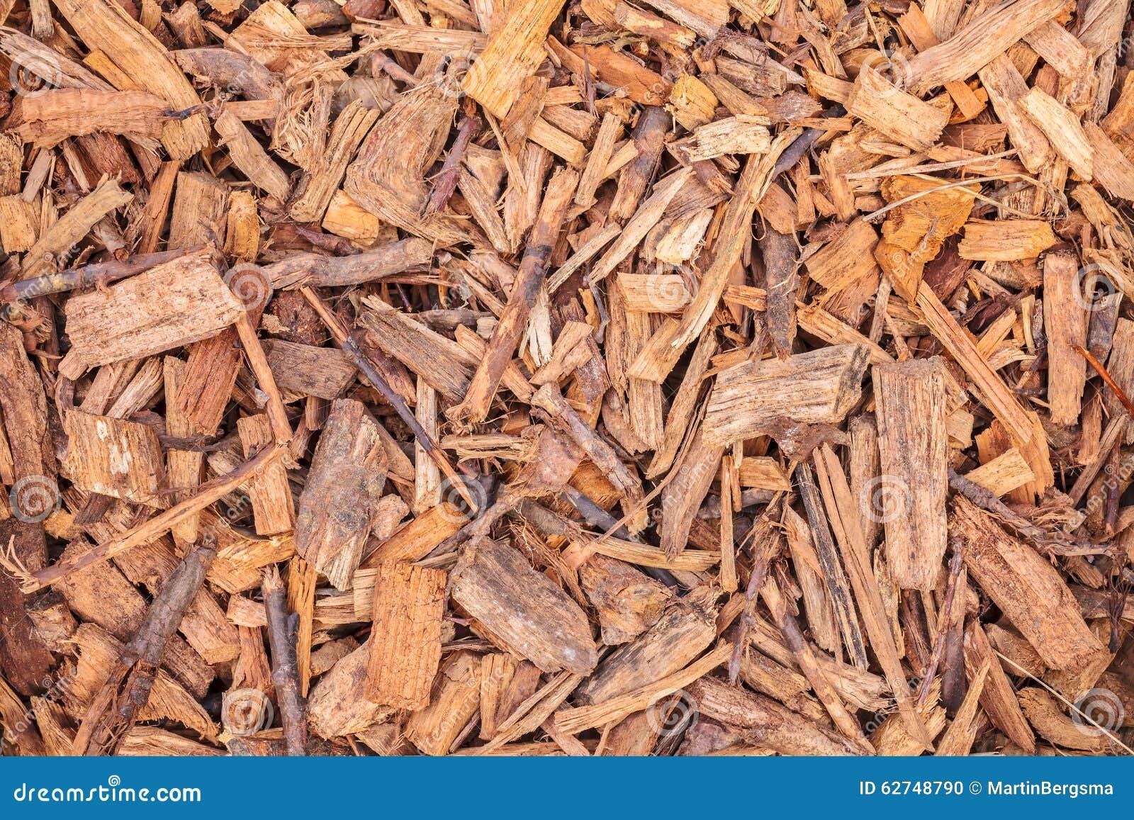 Holzspäne Für Die Gartenlandschaftsgestaltung Stockfoto Bild Von