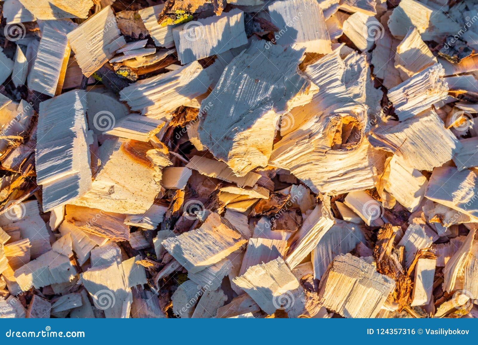 Holzspan Aufbereitetes Holz Umweltfreundliche Verarbeitung