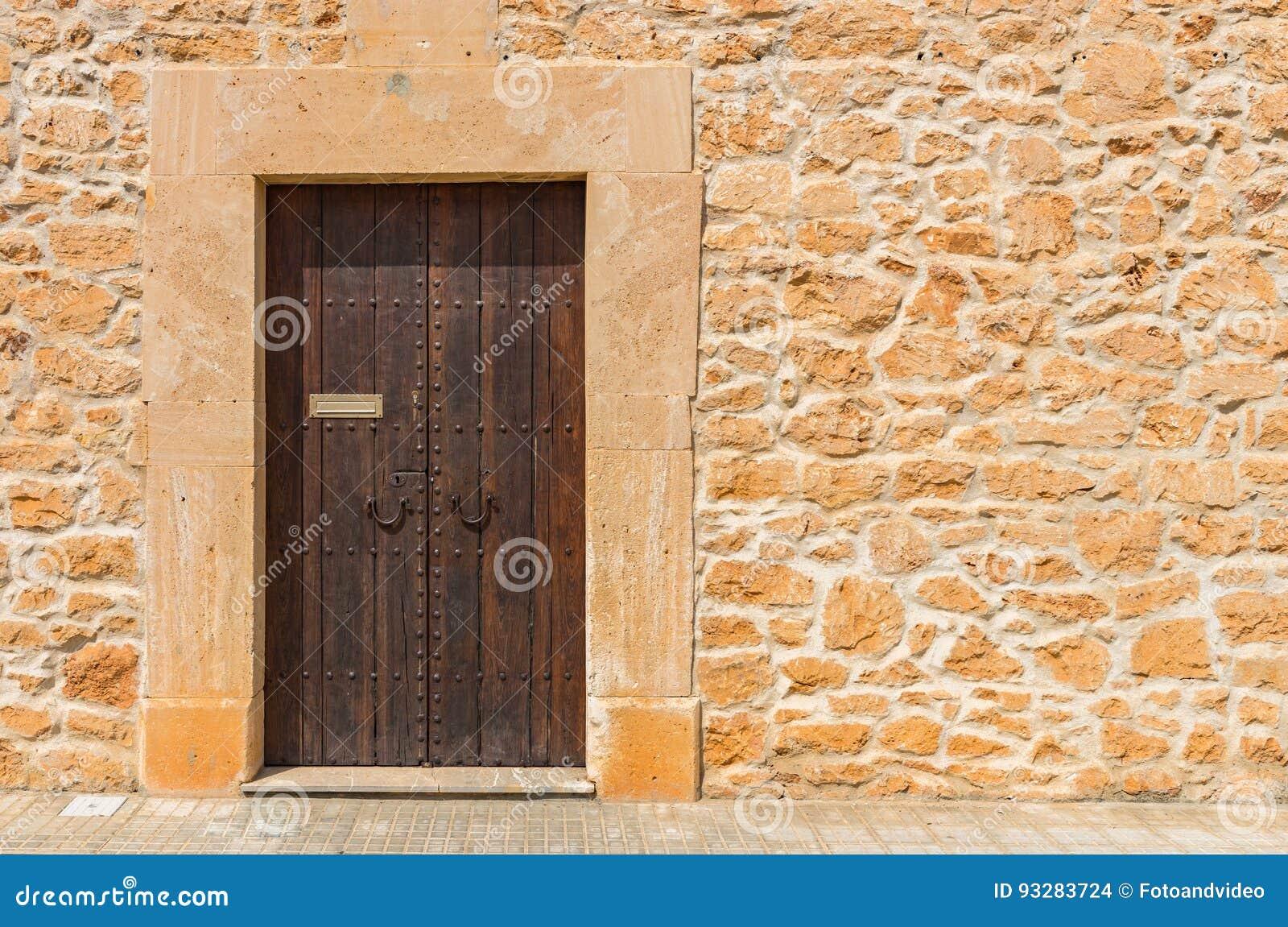 Verschiedene Holztür Außen Das Beste Von Holztür Des Dunklen Brauns