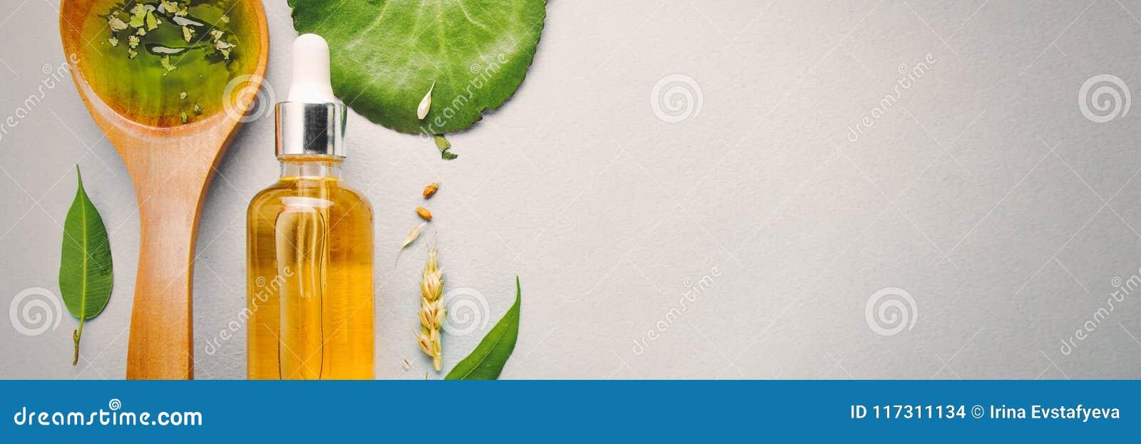 Homöopathische Öle, diätetische Ergänzungen für intestinale Gesundheit, Hautpflege