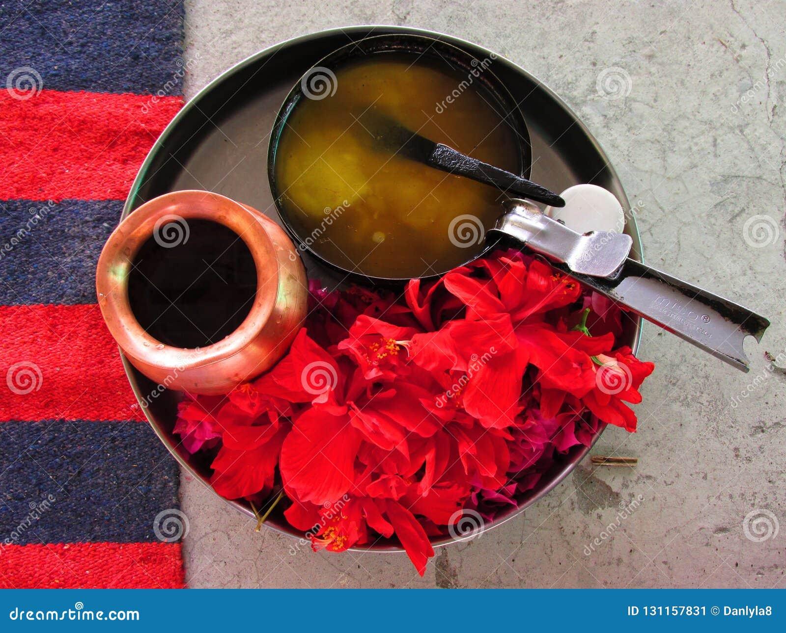 Homa - Hawan - Agni hotra: Items for the Hindu fire ritual