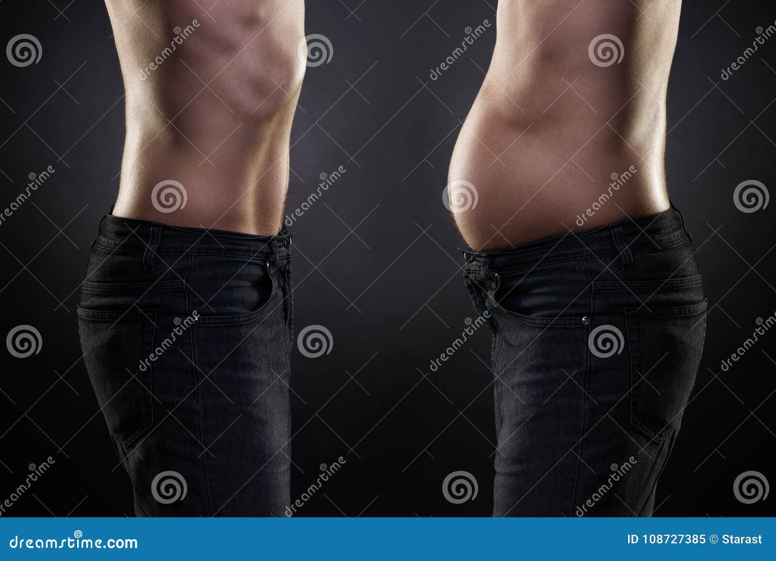 antes gordo después delgado
