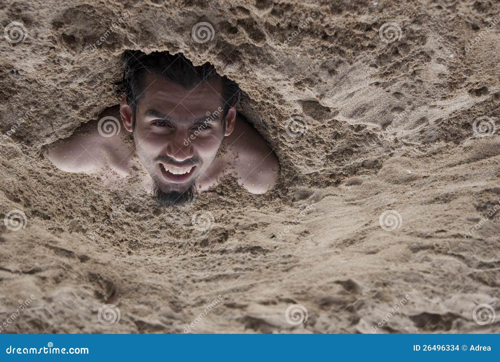 Hombre de la arena