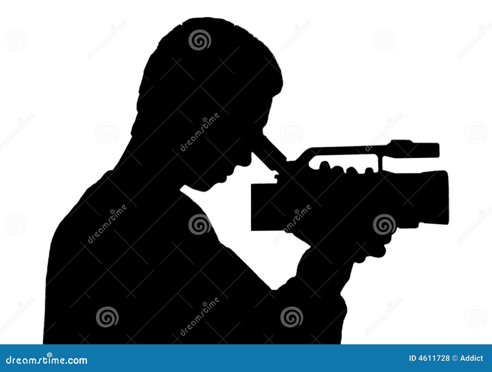 Hombre de la cámara (silueta)