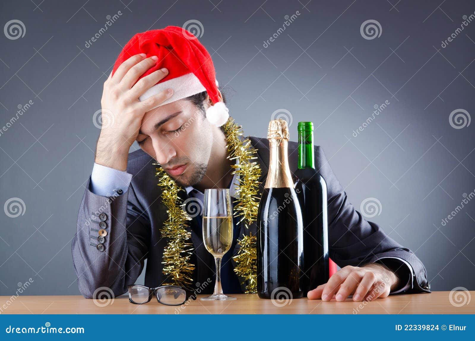 Por qu siempre terminas borracho en las fiestas de la