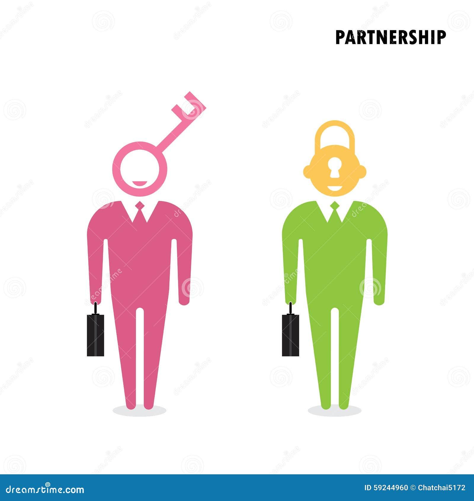 Download Hombre De Negocios Dos Con El Símbolo Dominante Concepto De La Solución Del Negocio Ilustración del Vector - Ilustración de eficacia, businessman: 59244960