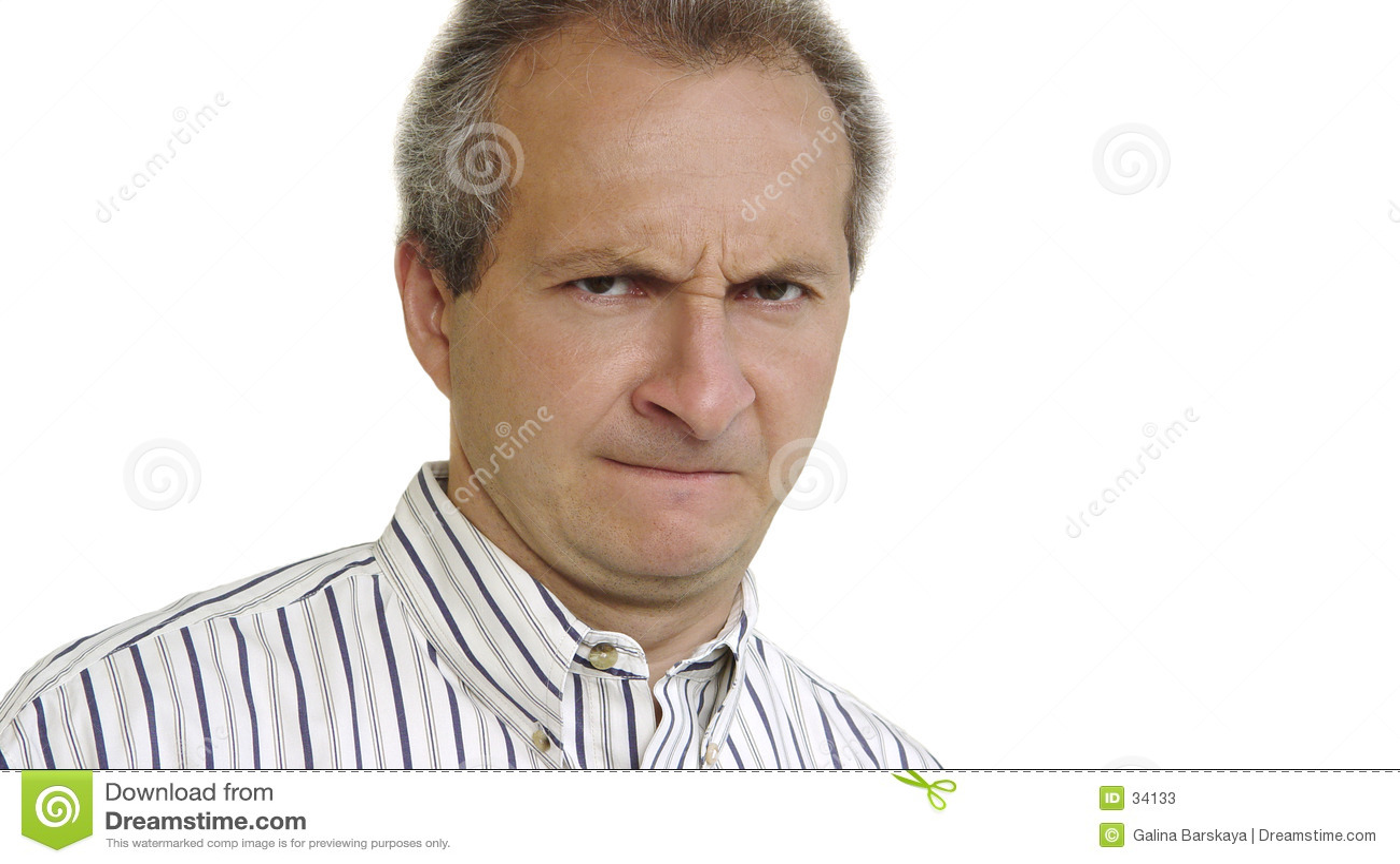 Download Hombre de negocios enojado imagen de archivo. Imagen de gruñón - 34133