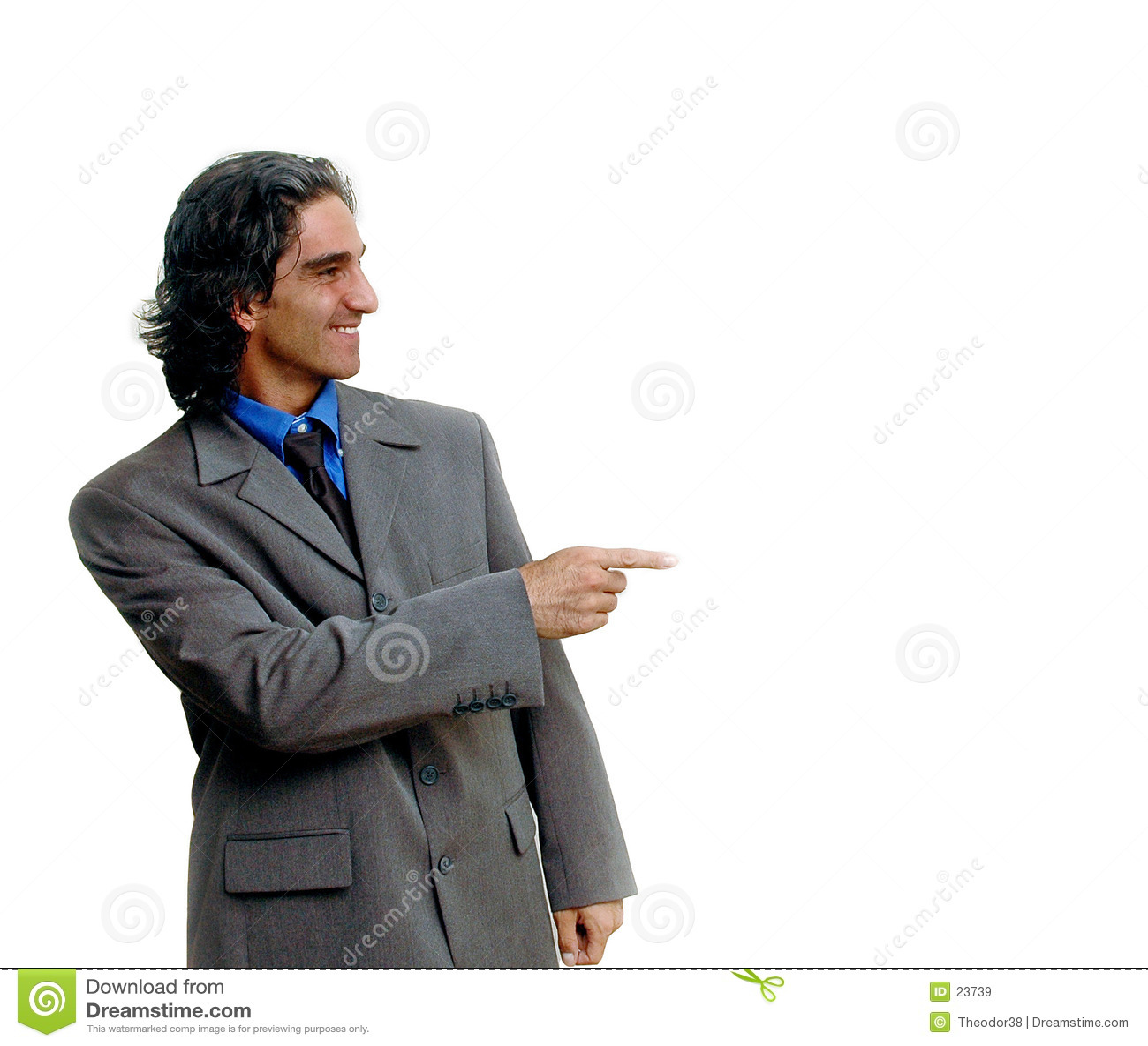 Hombre de negocios isolated-2