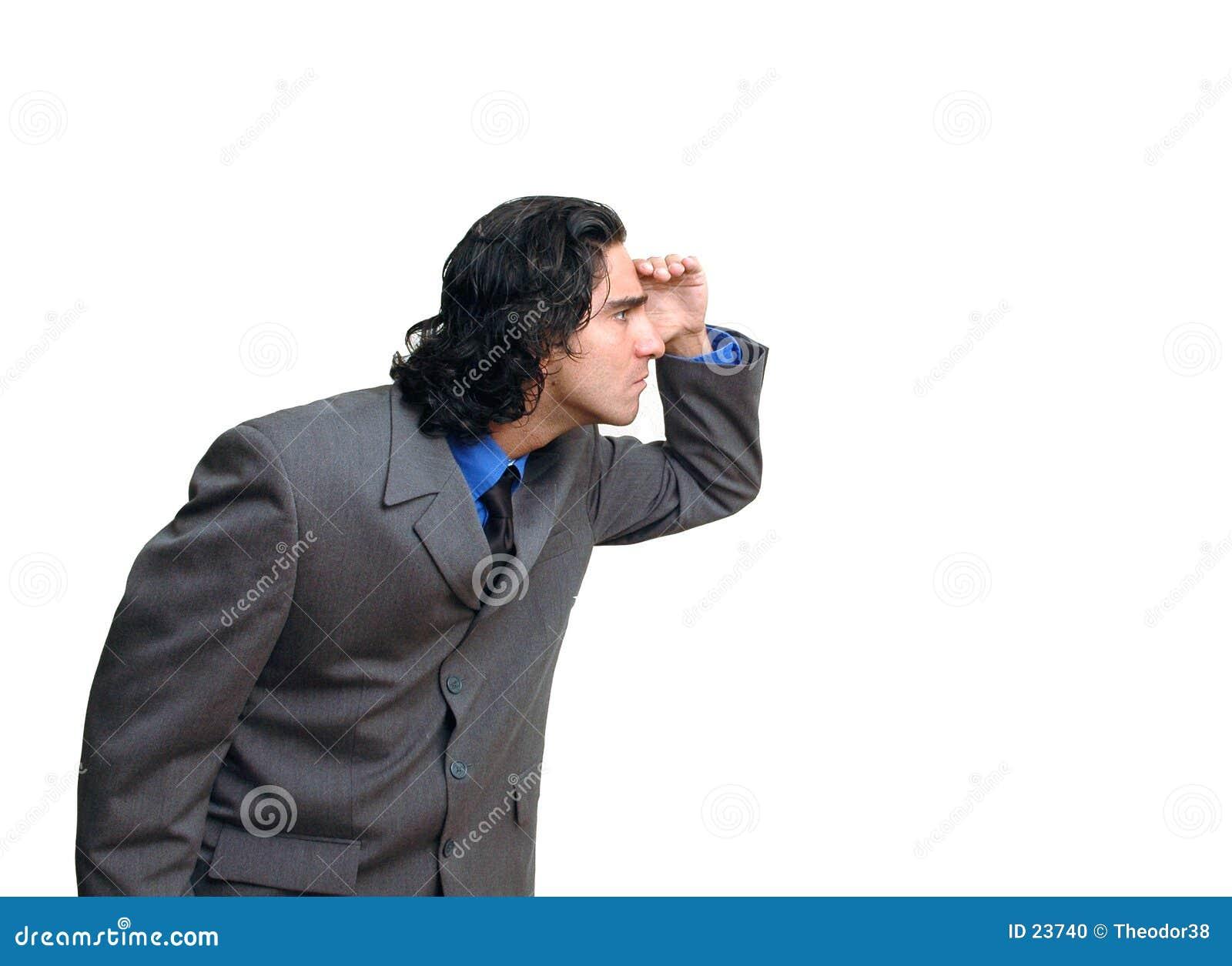 Hombre de negocios isolated-3