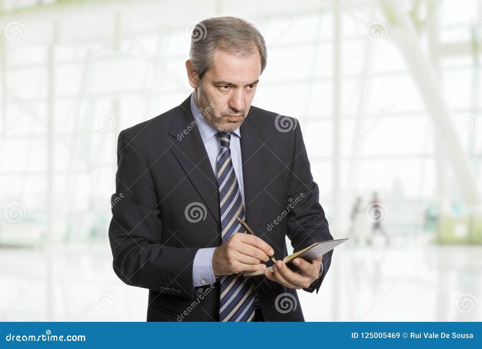 Hombre de negocios maduros