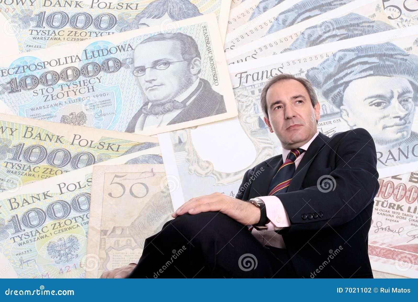 Hombre de negocios rico