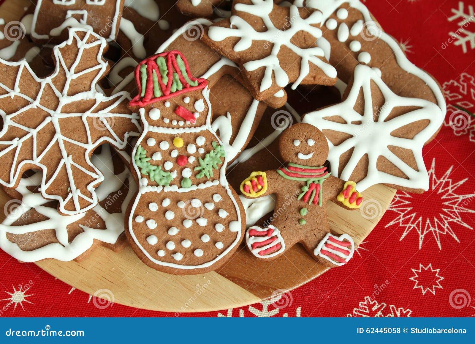 Hombre de pan de jengibre de la Navidad