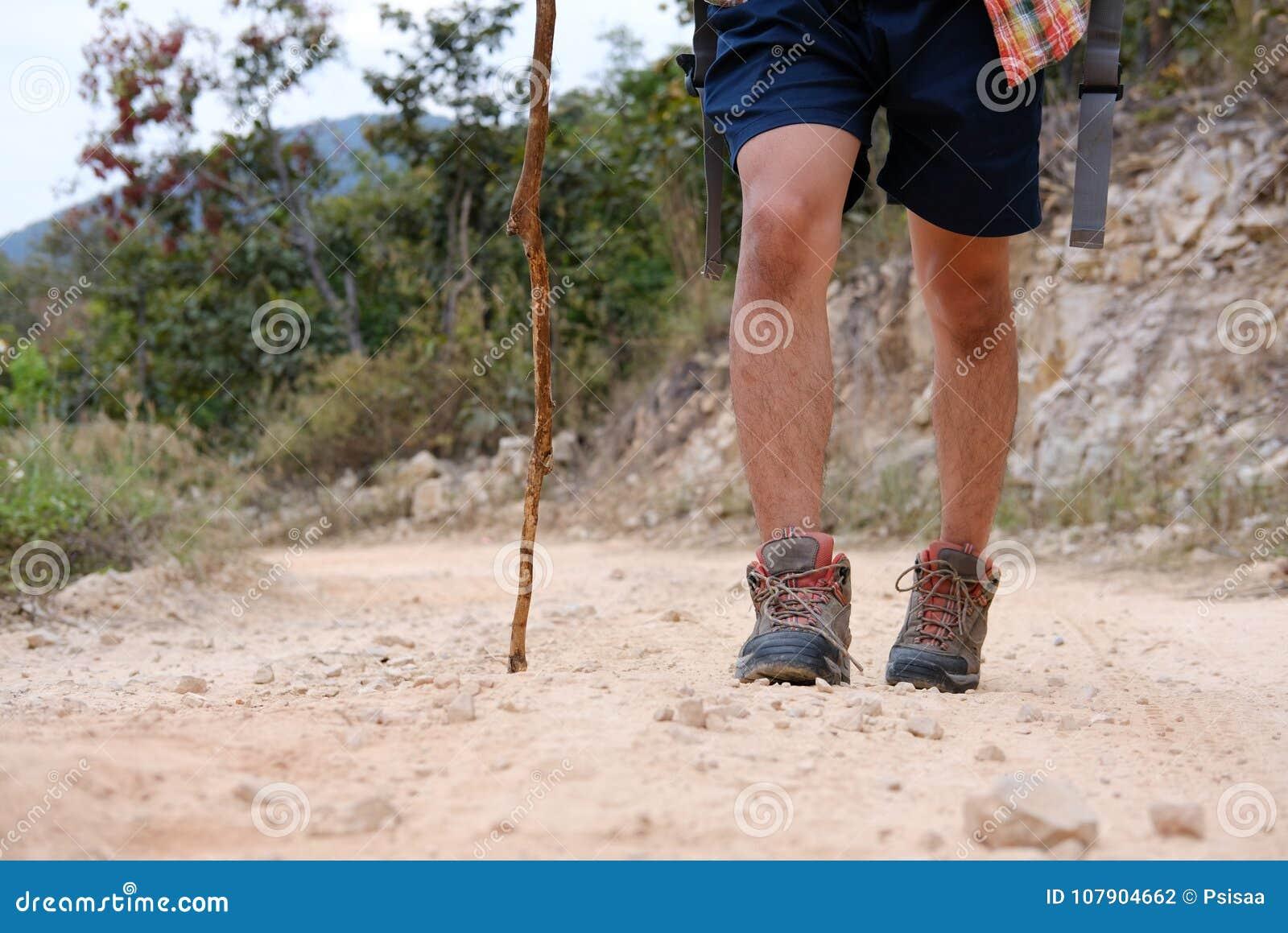 Camina Mochila Viajero Hombre Del Caminante En La Con Que wEg0qgX
