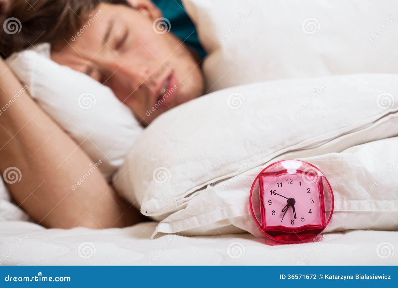 Hombre dormido rápido