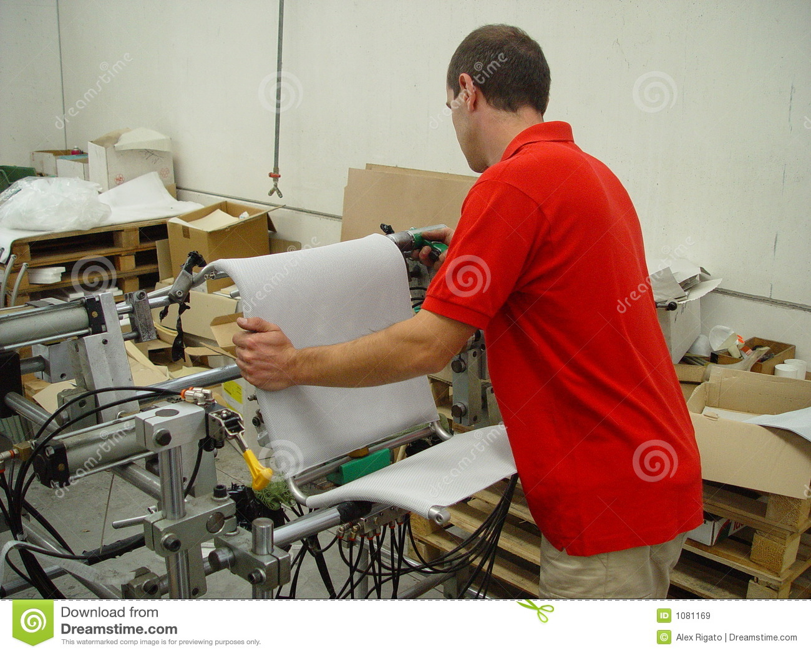 Hombre en el trabajo