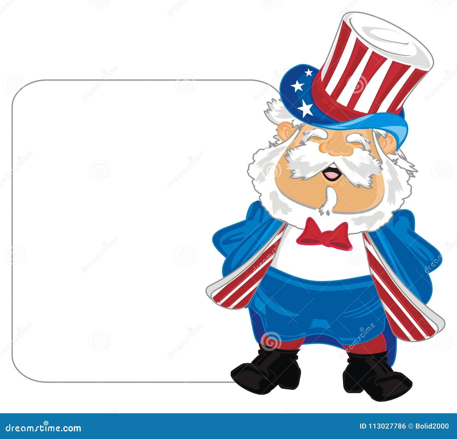 Hombre en traje de los E.E.U.U.