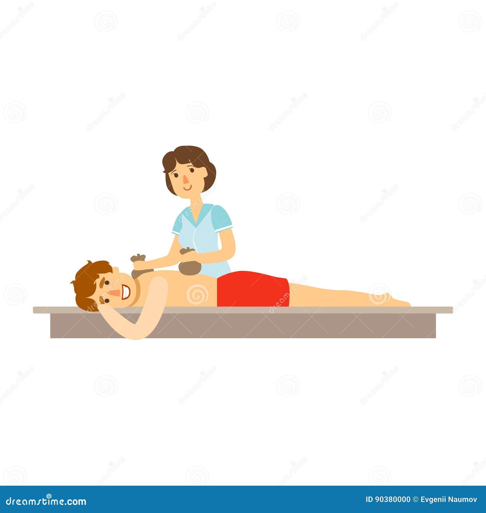masajes de chicas dibujos animados