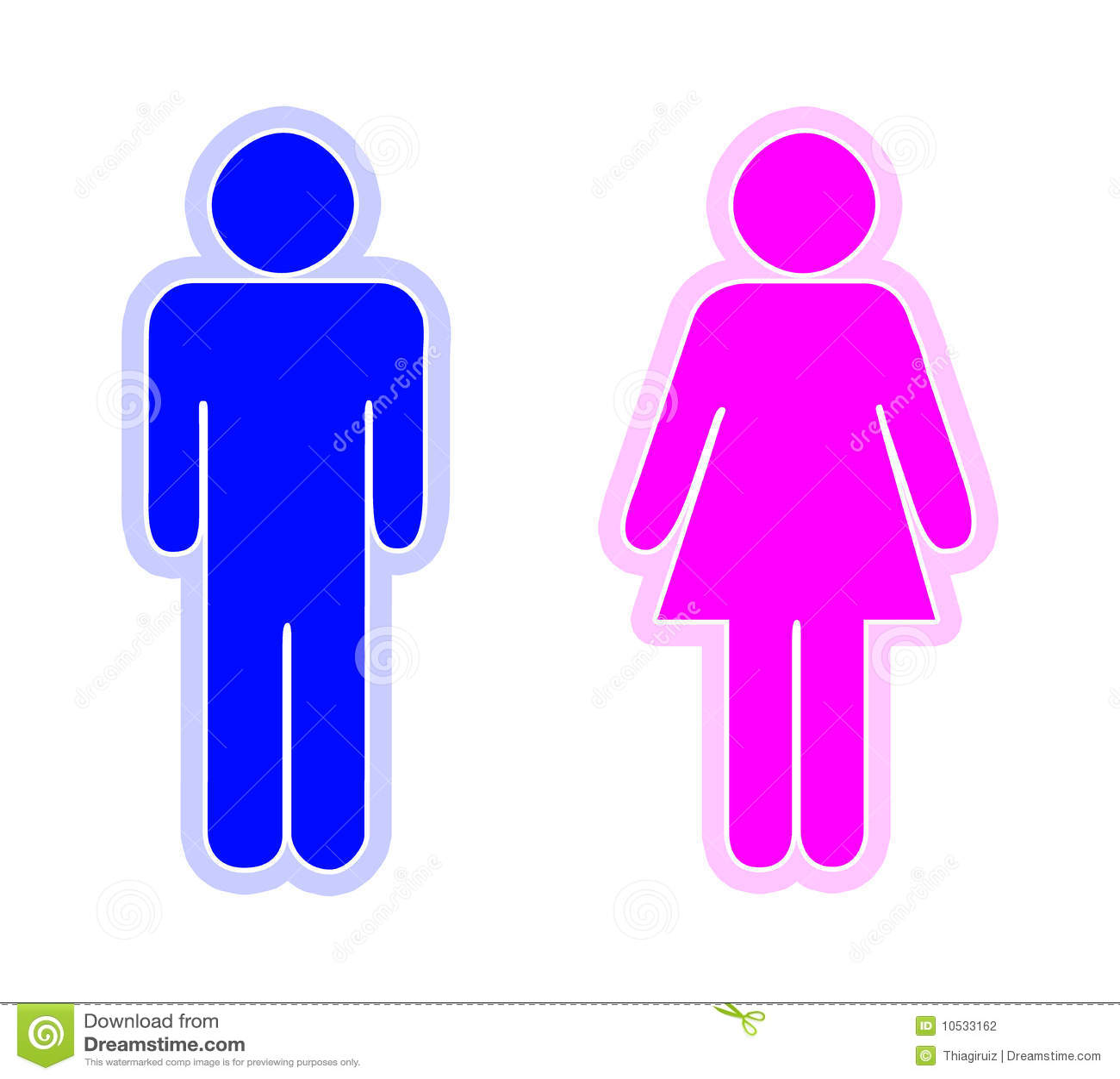 Hombre Y Mujer Stock De Ilustraci 243 N Ilustraci 243 N De Sitio