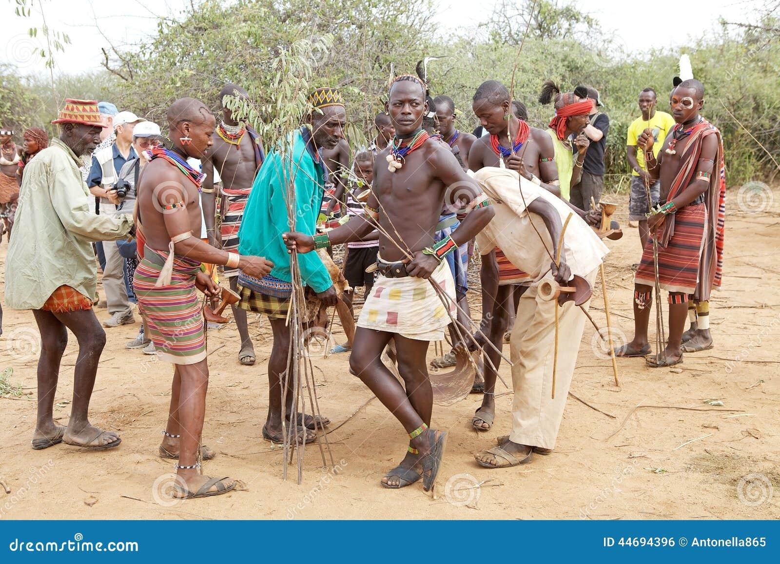 Hombres africanos