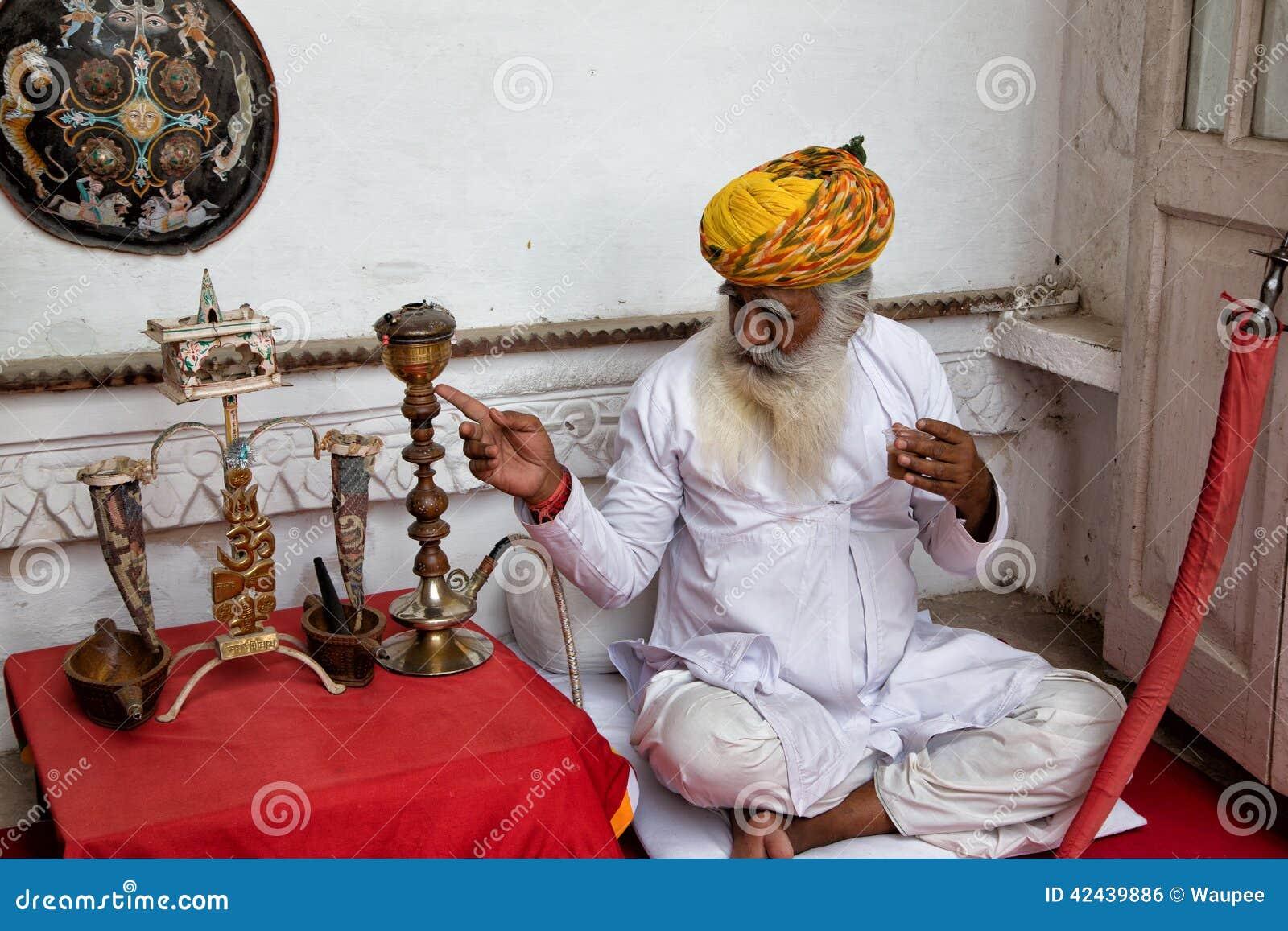 Hombres de la India