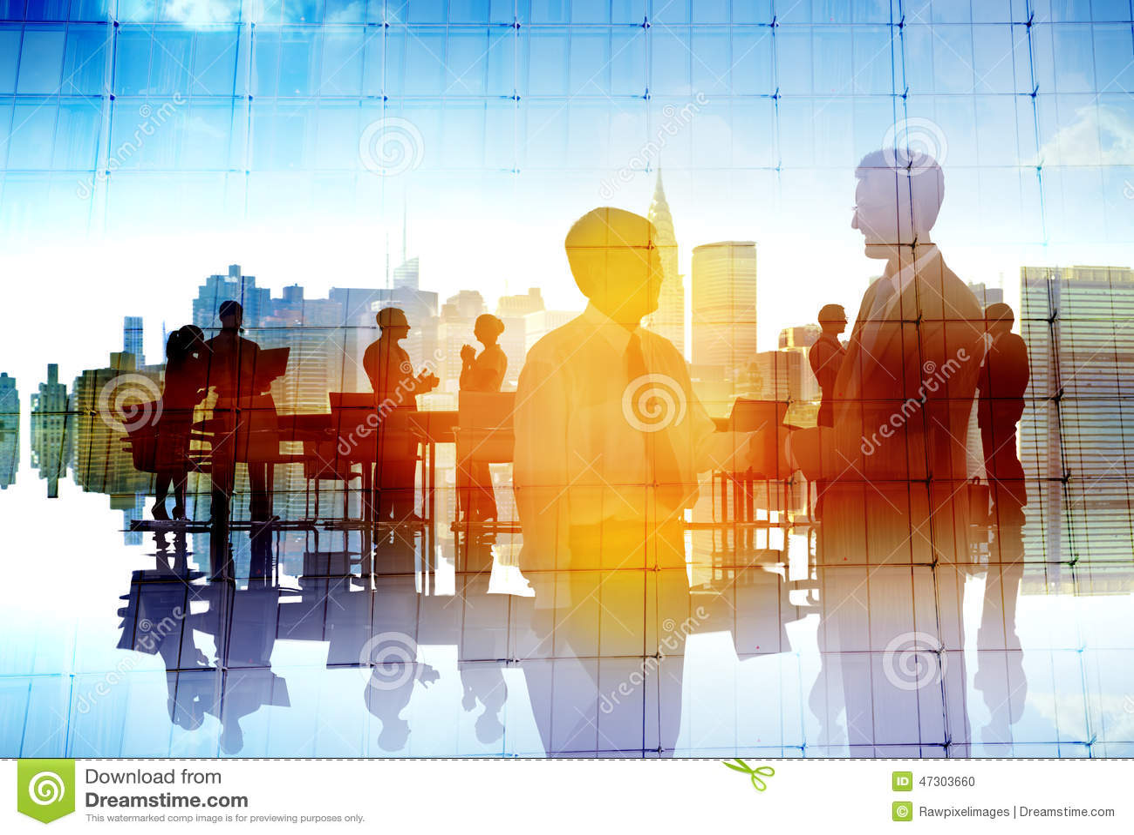 Hombres de negocios de la colaboración Team Discussion Concept