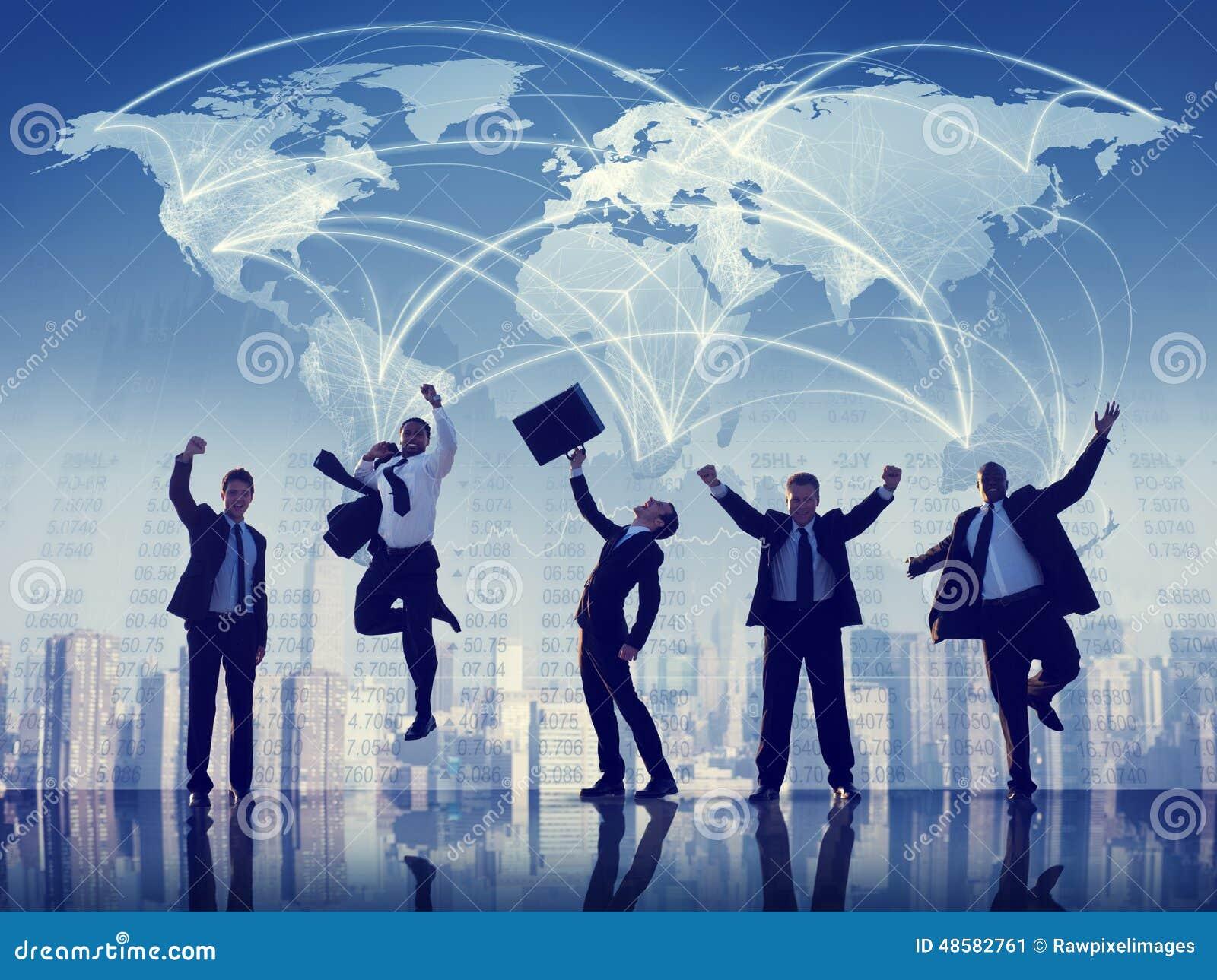Hombres de negocios de la colaboración Team Teamwork Professional Concept