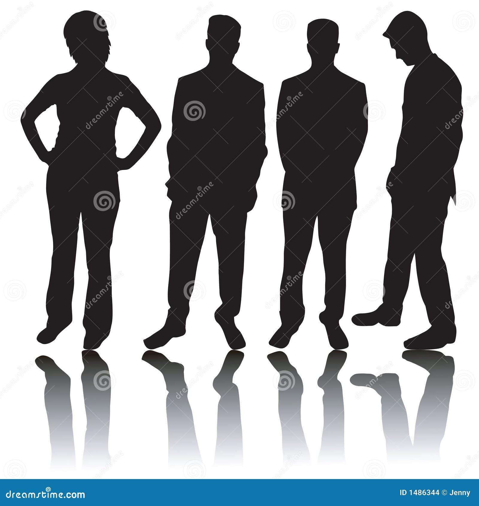 Business Person Silhouette