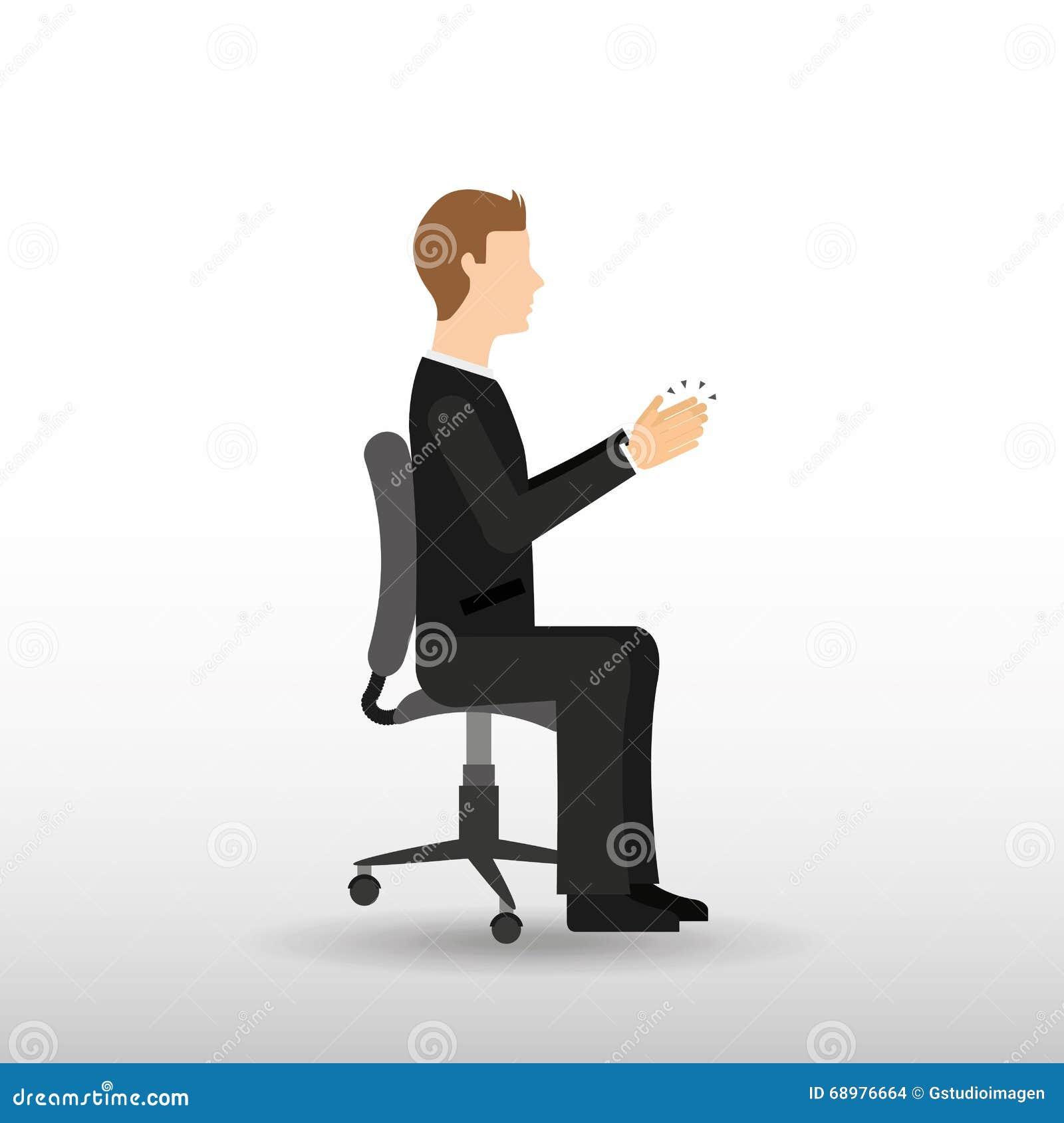 Hombres de negocios del diseño