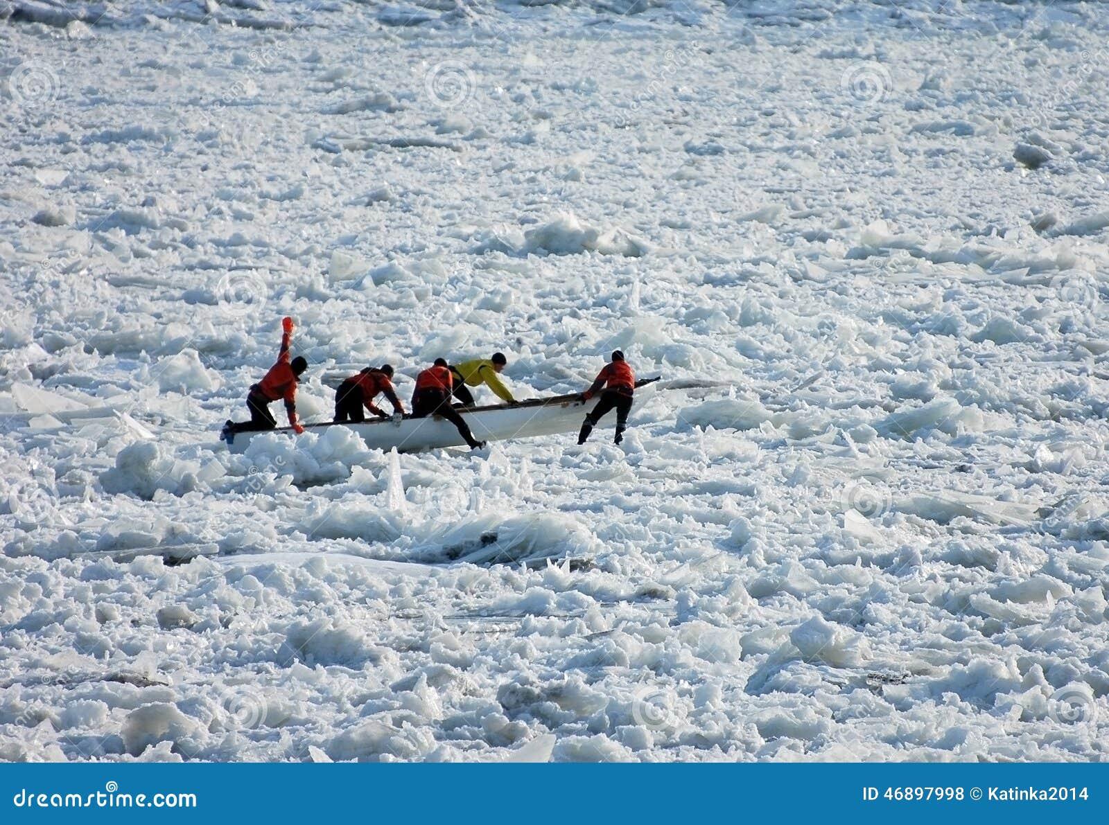 Hombres del hielo
