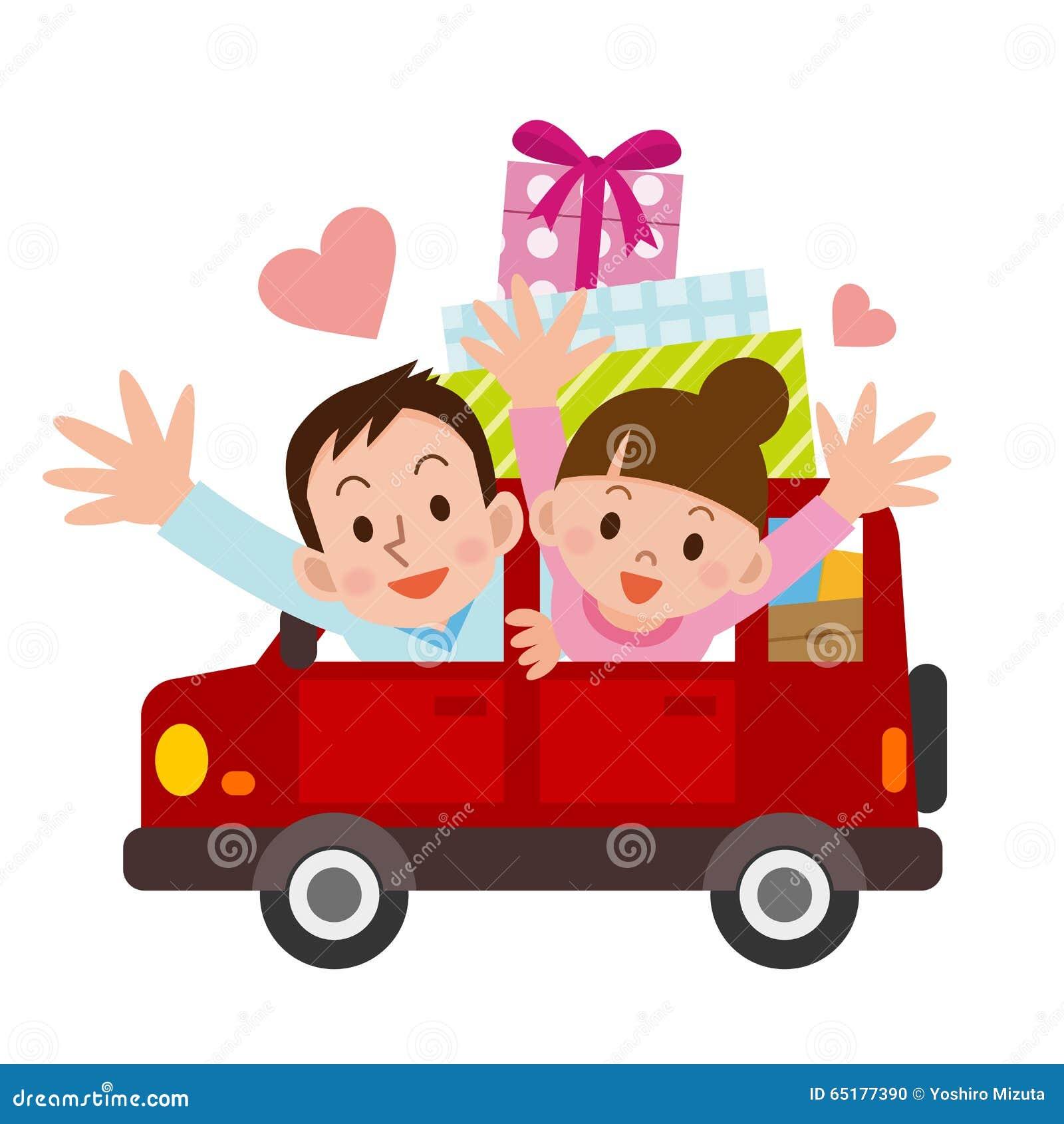 Hombres jovenes y mujeres para conducir la datación