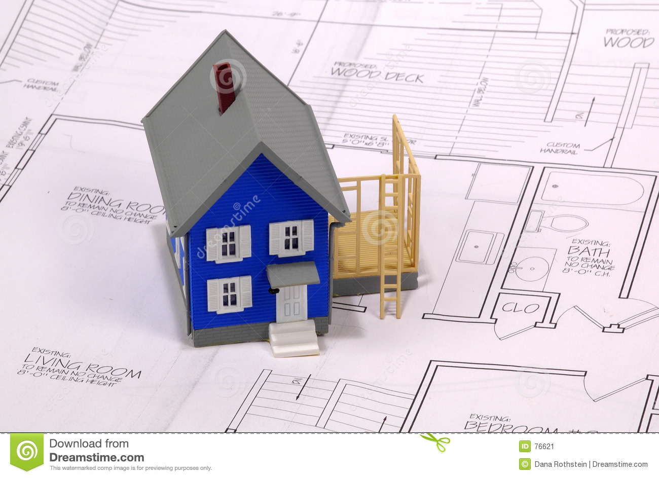 Home Addition Stock Image Image 76621