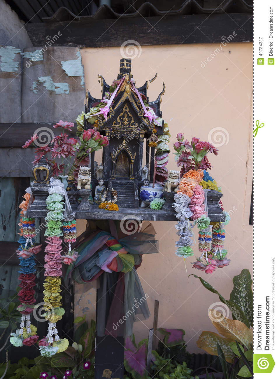 Home Altar Stock Image Image Of Faith Custom Culture 49734337