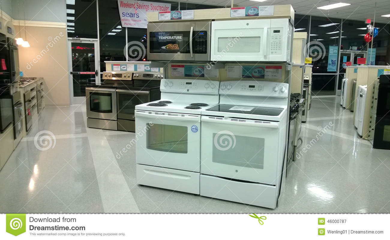 Home Appliance Store Editorial Photography Image 46000787
