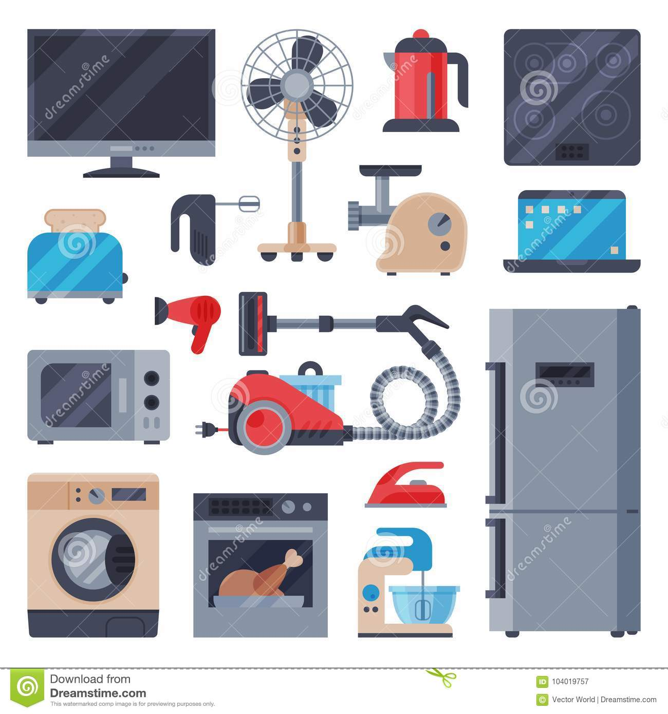 Home Appliances Domestic Household Equipment Kitchen