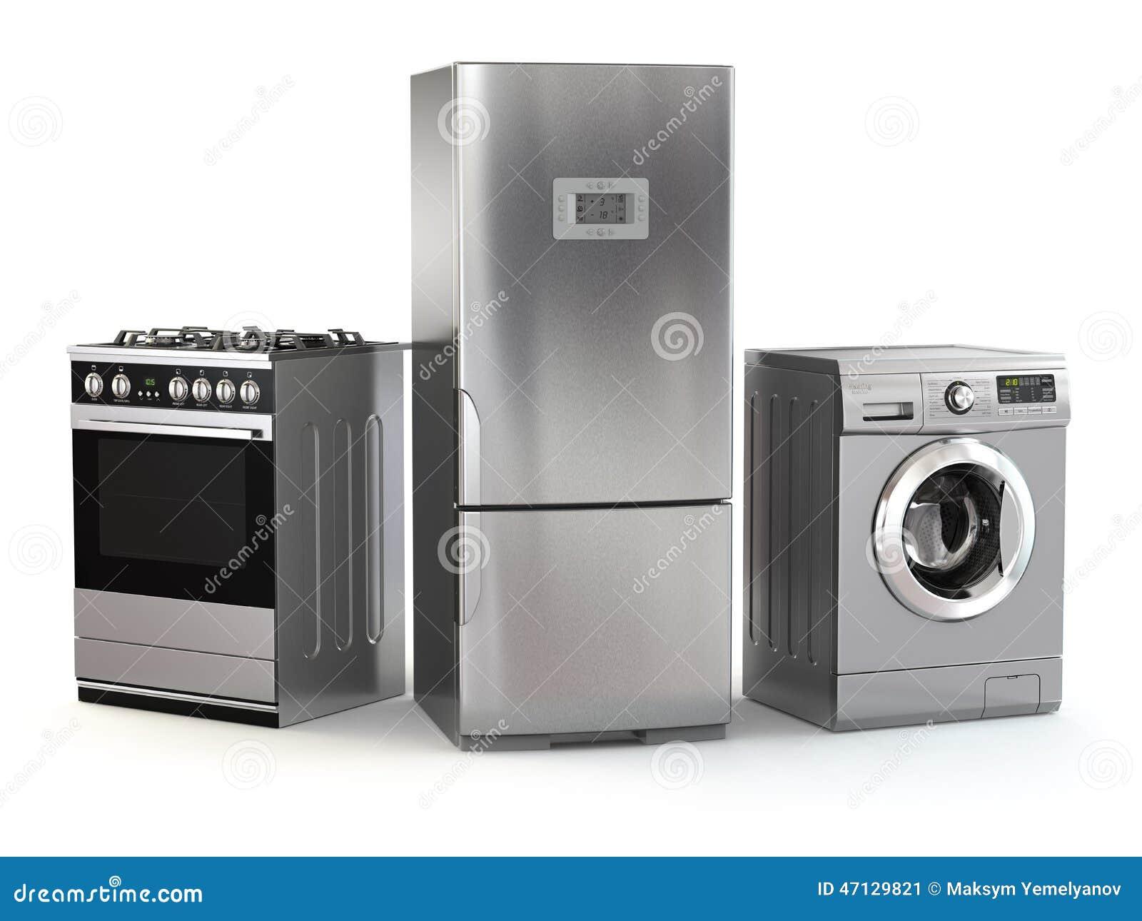 Uncategorized Household Kitchen Appliances home appliances set of household kitchen technics stock illustration