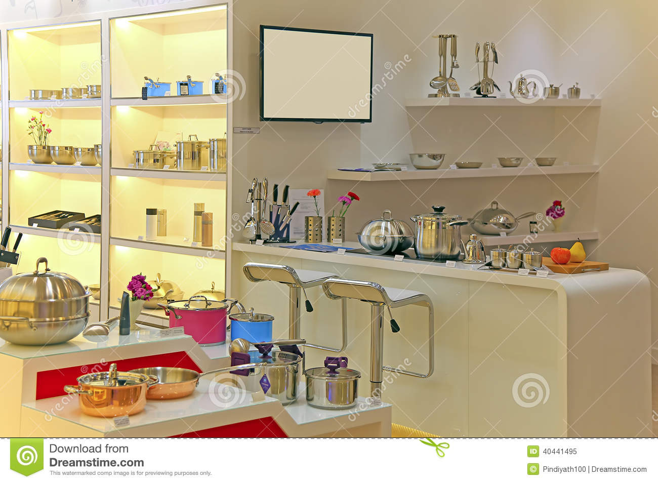 Home appliances store stock image. Image of deal, cooker - 40441495