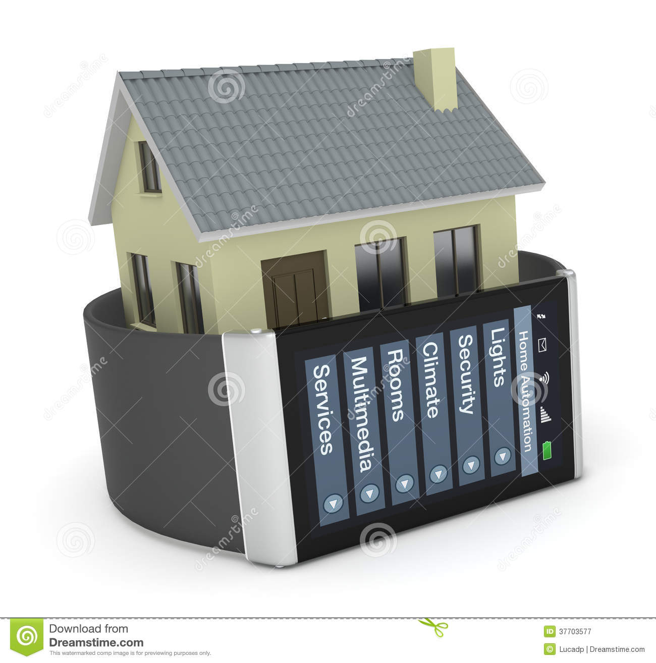 Home automation royalty free stock photography image for Home automation plan