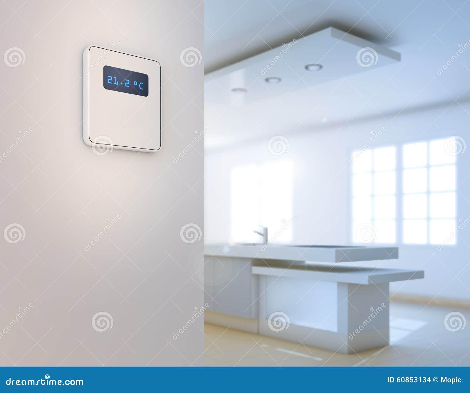 Home Automation Background Stock Photo Image 60853134