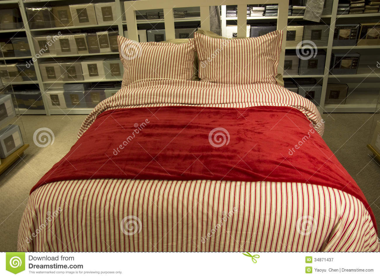 Home bedroom decor furniture store royalty free stock for Home design furniture store