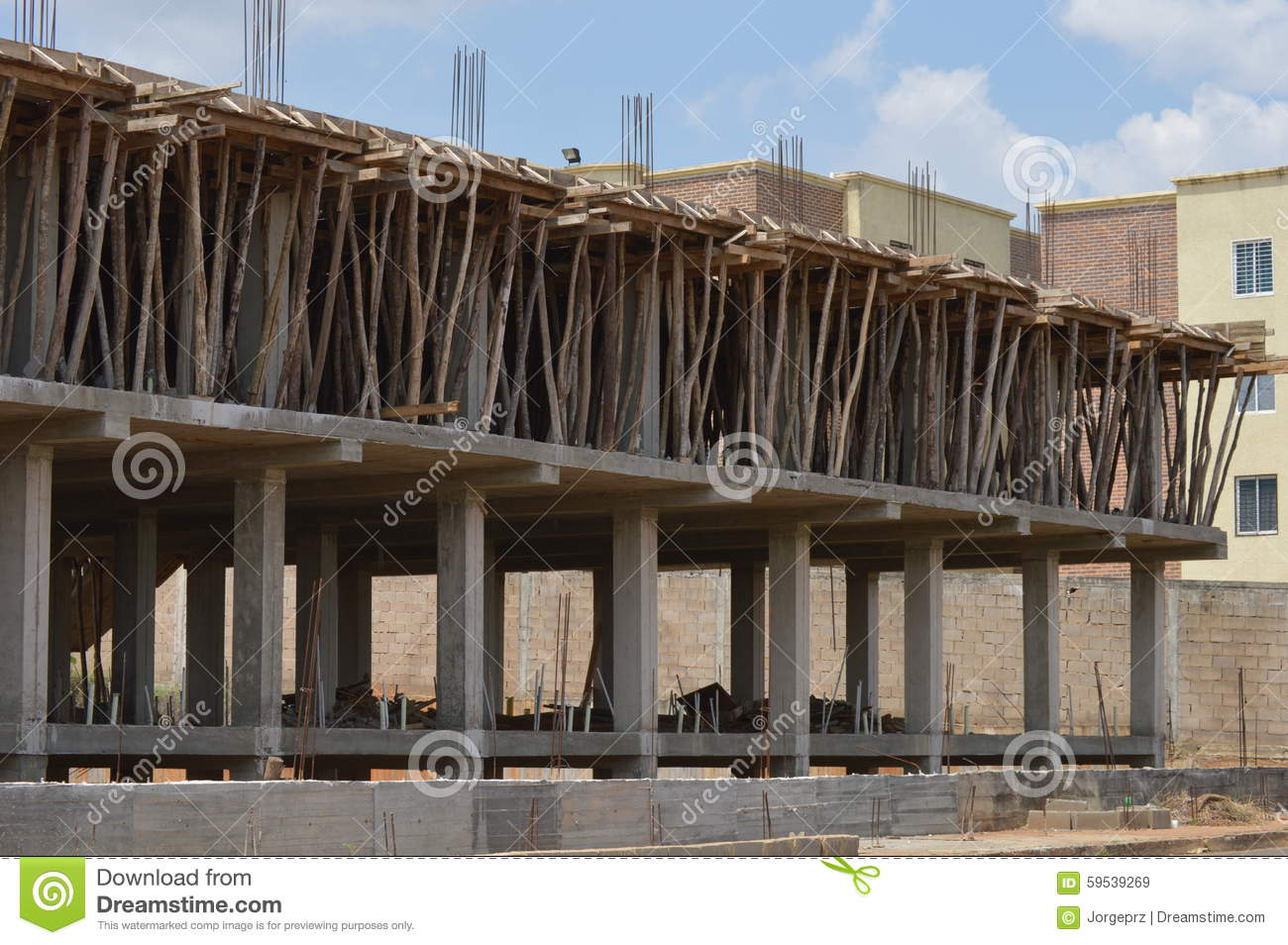 Home Building Construction Stock Photo Image 59539269