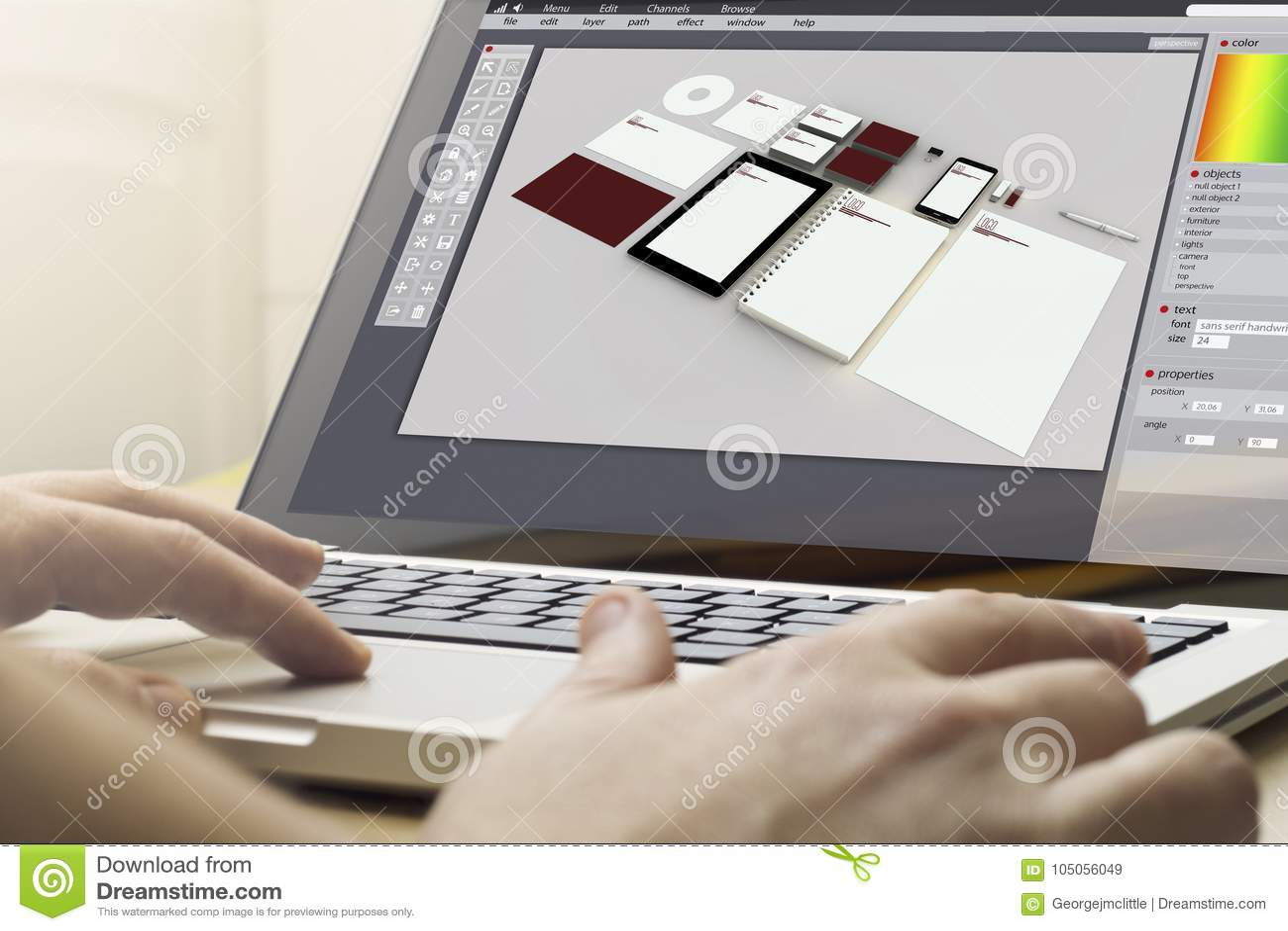 Home Computing Branding