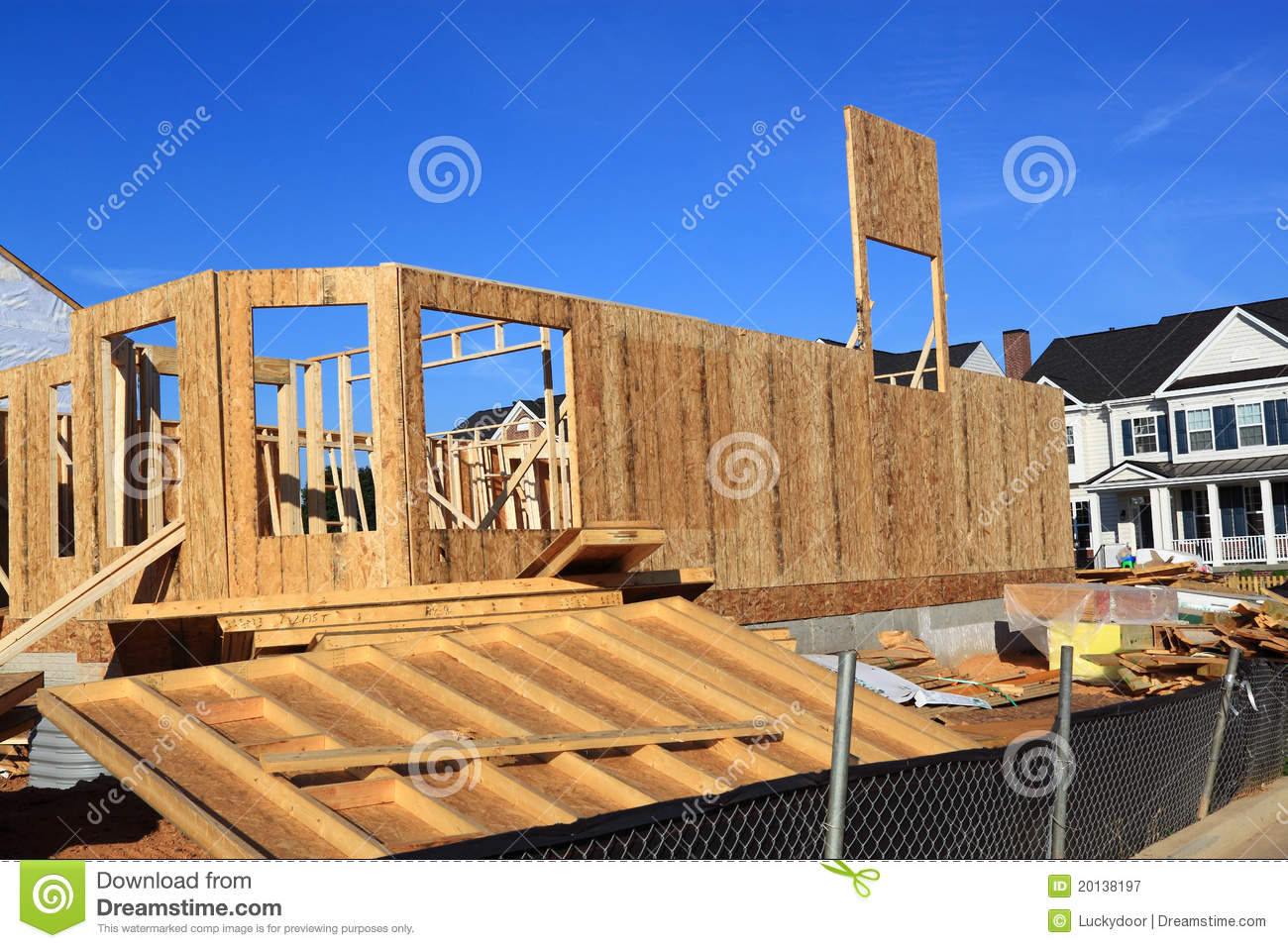 Home construction site royalty free stock photography for Home construction websites